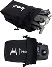 Anbee Mavic Pro Drone Body Storage Bag + Remote Carrying Cloth Sleeve Waterproof Combo for DJI Mavic Pro/Mavic 2 / Mavic Air/Spark Drone and Remote Controller