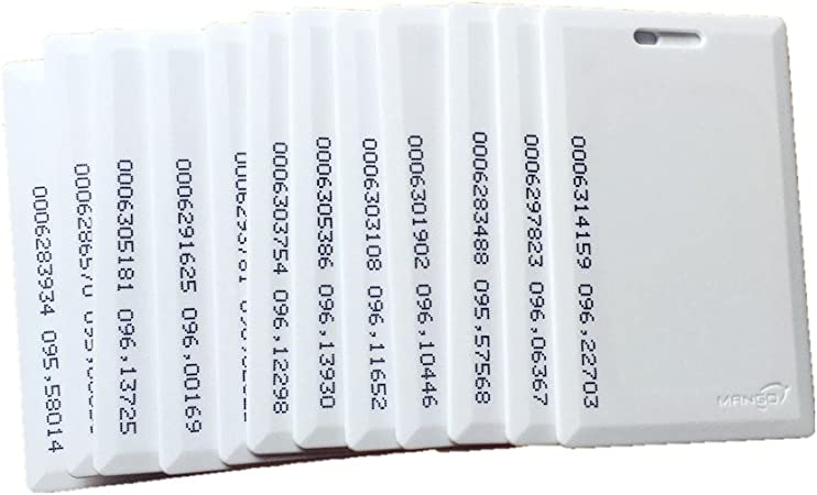 100 x rfid transpondeur Keyfob 64 octets 125khz em4100