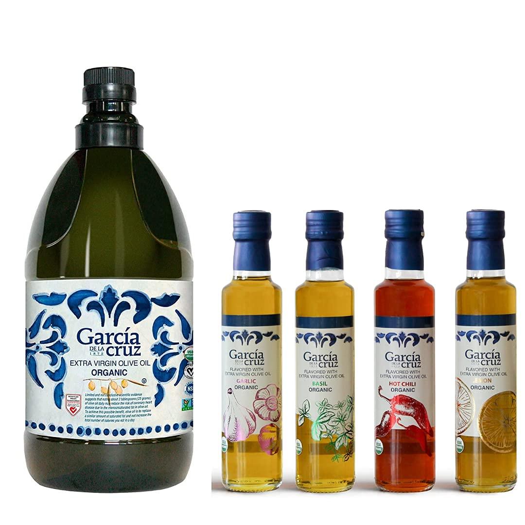 Houston Mall Organic Ranking TOP15 Olive Oil Extra Virgin García Cruz Co la Essential de