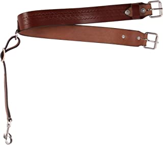 AceRugs Western Leather Tooled Back Rear Flank Cinch Girth CINCHES Horse TACK Trail