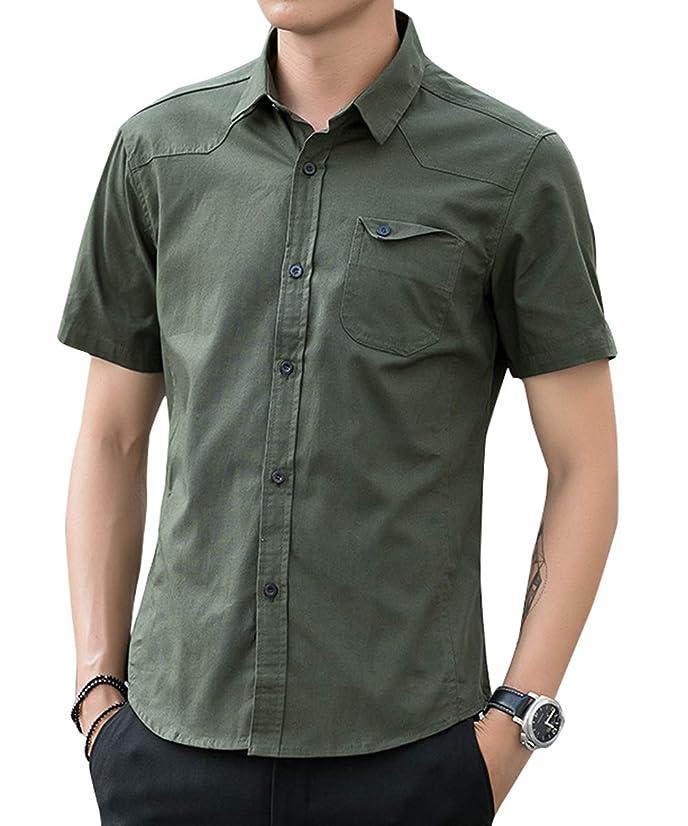 進化ほとんどの場合進化シャツ メンズ 半袖 ビジネス 通勤 通学 夏 無地 カジュアル 大きいサイズ 無地 細身 JIAYBL