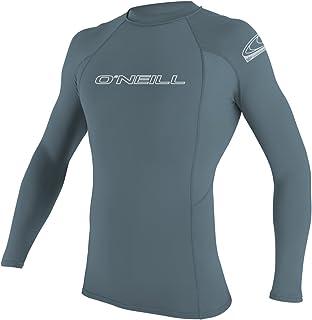 O'Neill Wetsuits Men's Basic Skins L/S Rash Guard T-Shirt