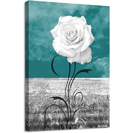 16x20 Metal Print of It Must Have Been the Roses