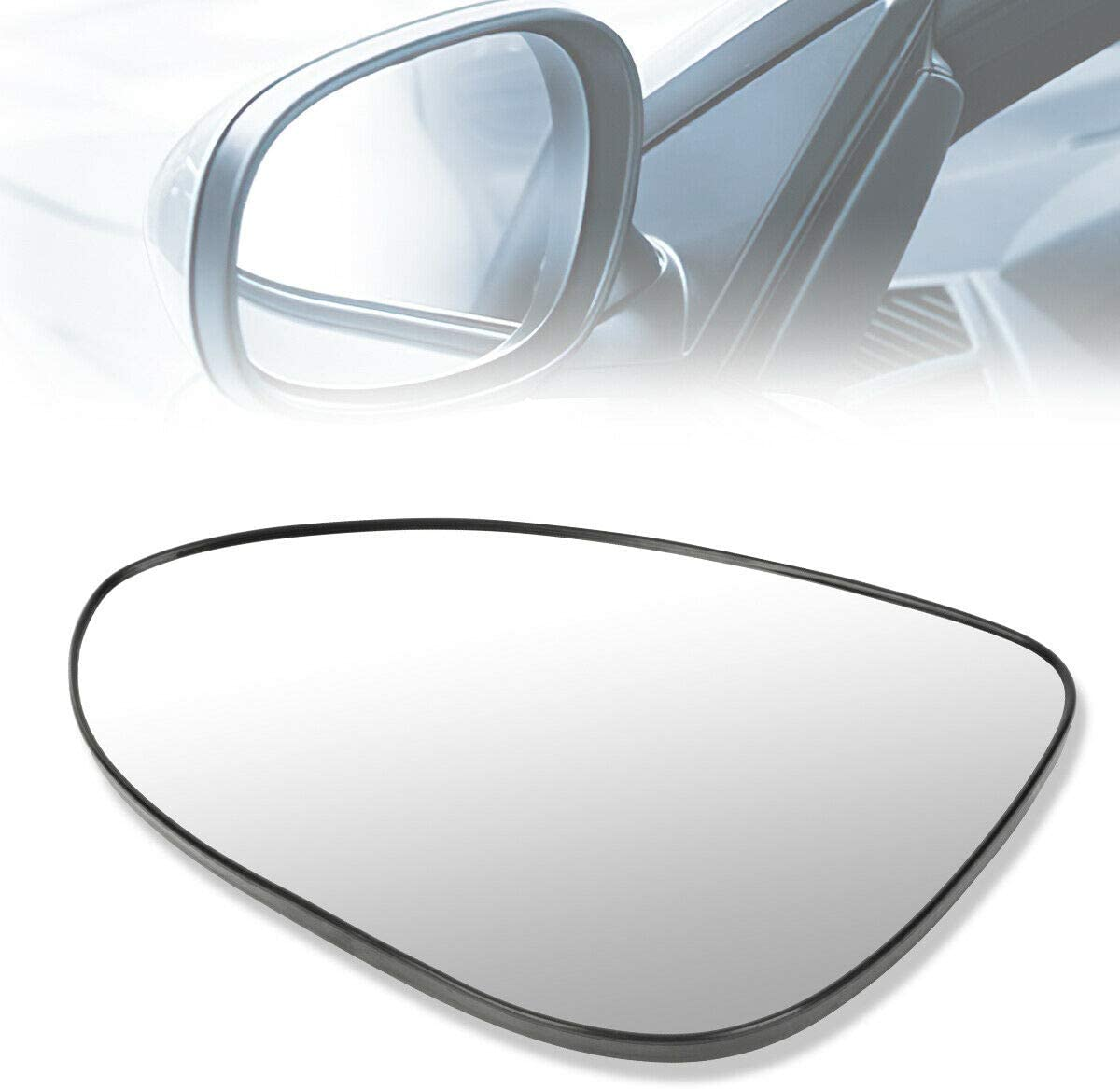 TNNY OE Style Al sold out. Driver Left Lens Mirror Heated 95132582 Glass Seattle Mall