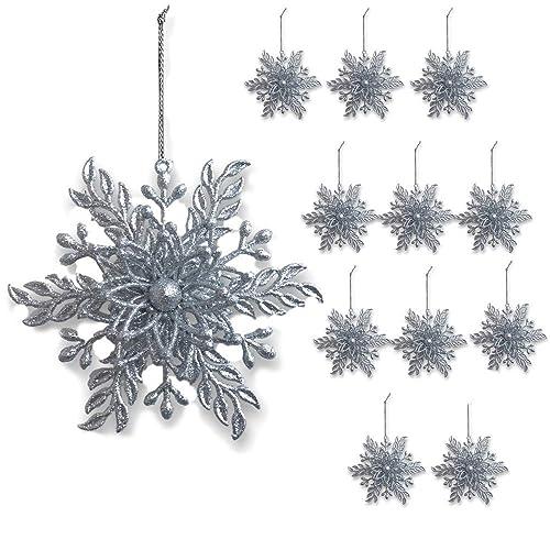 Black And Silver Christmas Ornaments Amazoncom