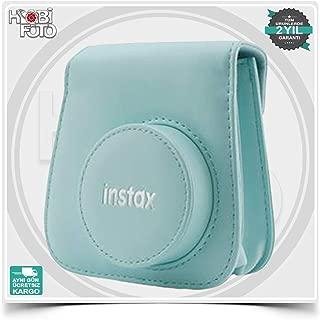 Fujifilm Groovy Case instax Mini 9 Deri Çanta (Ice blue)