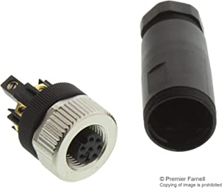 99-0486-12-08 - Circular Connector, 713 Series, Cable Mount Receptacle, 8 Contacts, Screw Socket (99-0486-12-08)