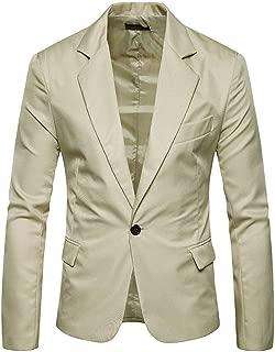 Sunward Men Jacket Autumn Winter Cardigan Casual Pocket Button Long Sleeve Coat Top