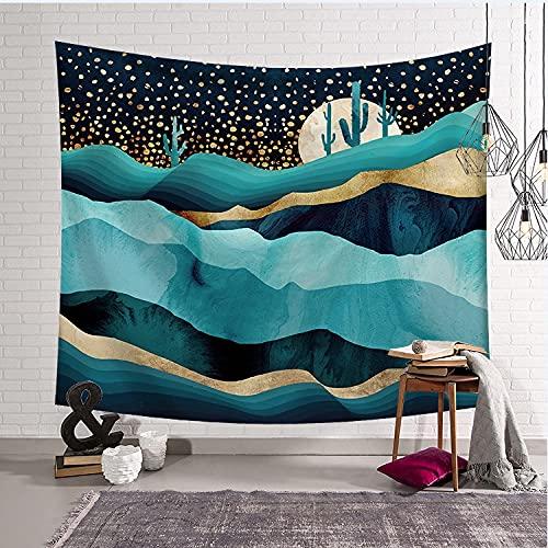 MIKUAJ tapizPatrón Mandala Tapiz para Colgar en la Pared Estera de Viaje para Acampar Amanecer Pintura al óleo Patrón Almohadilla de Yoga Alfombra para Dormir Manta de Playa