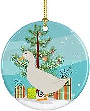 Caroline's Treasures American Pekin Duck Christmas Ceramic Ornament