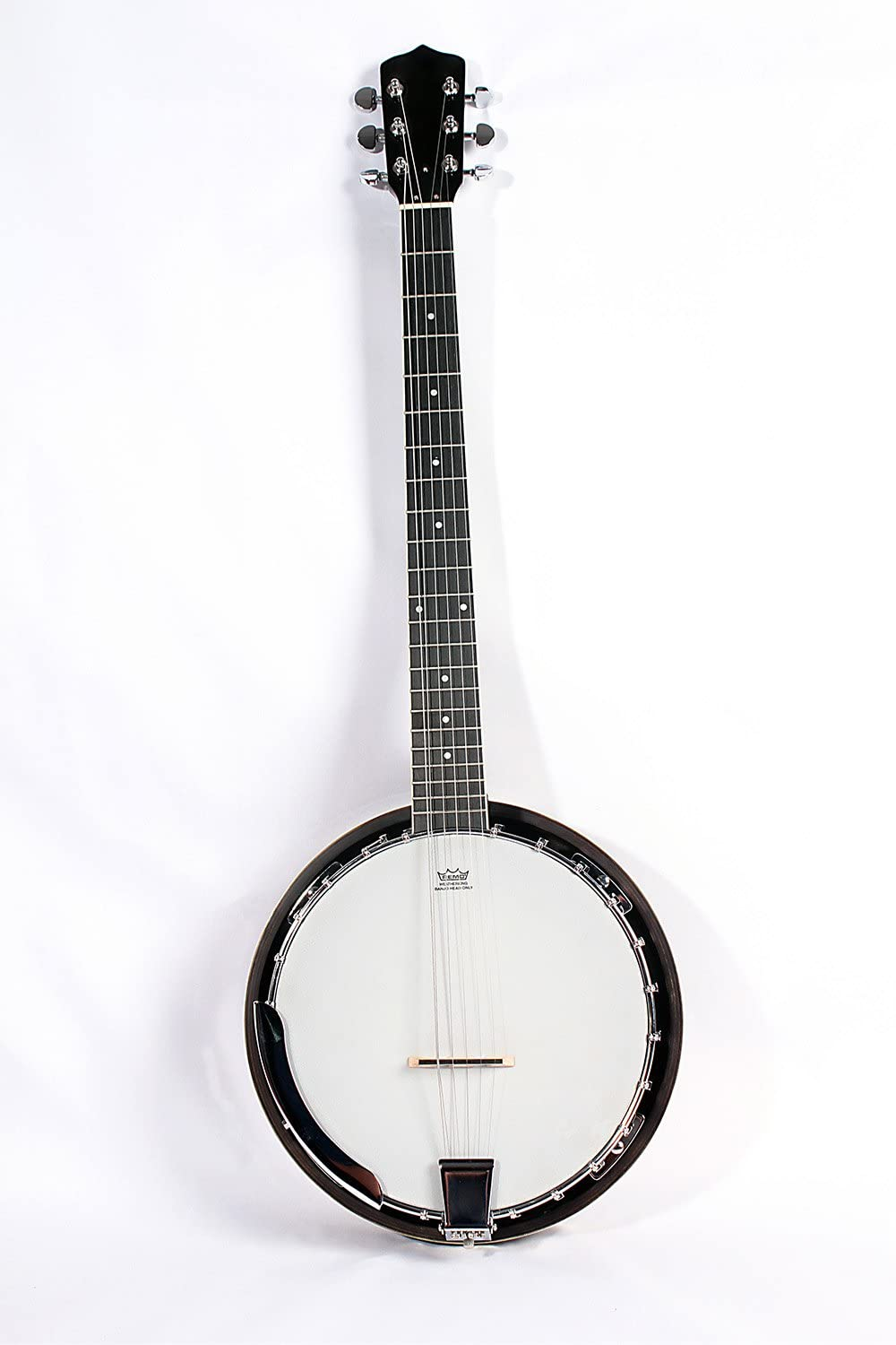 6-String Banjo 24 Bracket with Closed Popular standard 6th Geared and Ranking TOP17 Solid Back