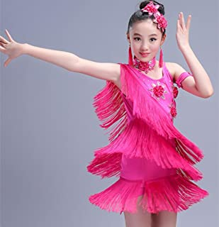 4084f96b1f2 SMACO-Traje de baile latino para niños Disfraces Latinos para niñas  Disfraces Femeninos para concursos