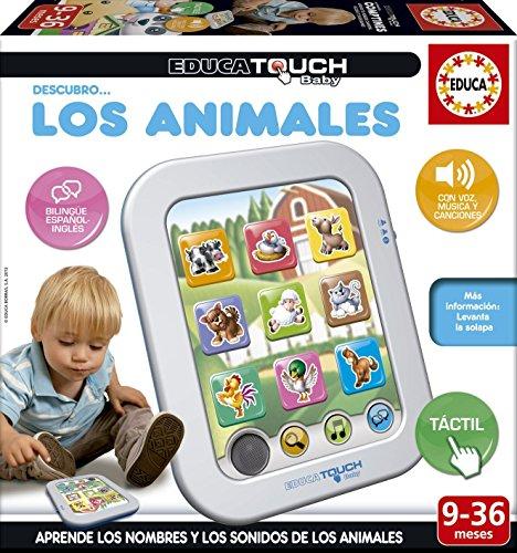 Educa Touch – Baby descubro... os Animais, Jeu éducatif en Portugais (16093)