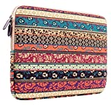 Plemo 11-11.6 Inch Bohemian Style Laptop Sleeve Case Bag for 11.6-Inch MacBook Air / Laptops / Notebook