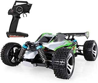 WLtoys A959 - B 1:18 Scale 2.4G 4WD 70km/h RC Off-road Electric Car RTRMain Features: - High power 540 motor