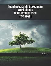 Teacher's Guide Classroom Worksheets Dear Evan Hansen The Novel