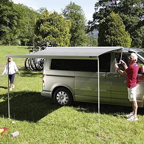 Fiamma Markise F45s Deep Black für VW T5/T6 Multivan/Transporter Royal Grey Sonnenschutz Fahrzeug