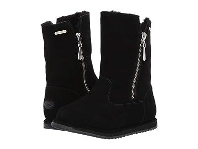 EMU Australia Kids Gravelly (Toddler/Little Kid/Big Kid) (Black) Girls Shoes