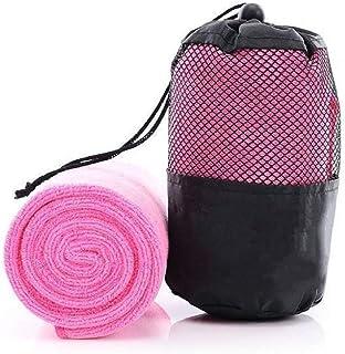 iLett Microfiber Sport and Gym Towel with Black MESH Bag 16 x 48 inches