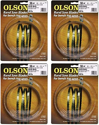 51659 OLSON SAW 1/8x59-1/2 14 TPI Blade, Pack of 4