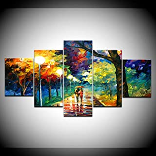 LIVELJ XXl,Living Room 5 piece canvas Prints art work Panels Modern Set Gallery HD Pictures Wall Decoration Large Poster/P...