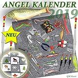 qm basic ADVENTSKALENDER Angler Fischer zum Selbst Befüllen 2019 Männer Angel Werkzeug XXL...