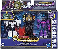 Transformers Cyberverse Villanos Quintesson Invasion