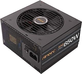 Antec EarthWatts Gold Pro 650W Power Supply 650 Watt 80 Plus Gold PSU with 120mm Silent Cooling Fan, Semi Modular, 7 Year ...