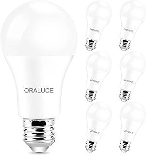 Sponsored Ad - LED Light Bulb, ORALUCE A19 12W Lightbulbs, 100 Watt Equivalent, 120V 1200LM , 3000K Soft White, E26 Medium...