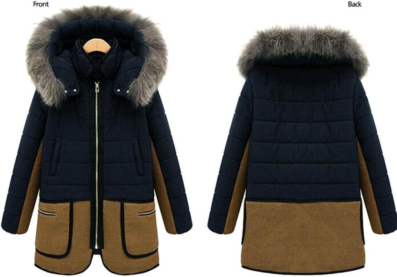 Jushye Women's Jacket Coat, Fashion Ladies Winter Warm Outwear Faux Fur Hooded Parka Thicken Overcoat