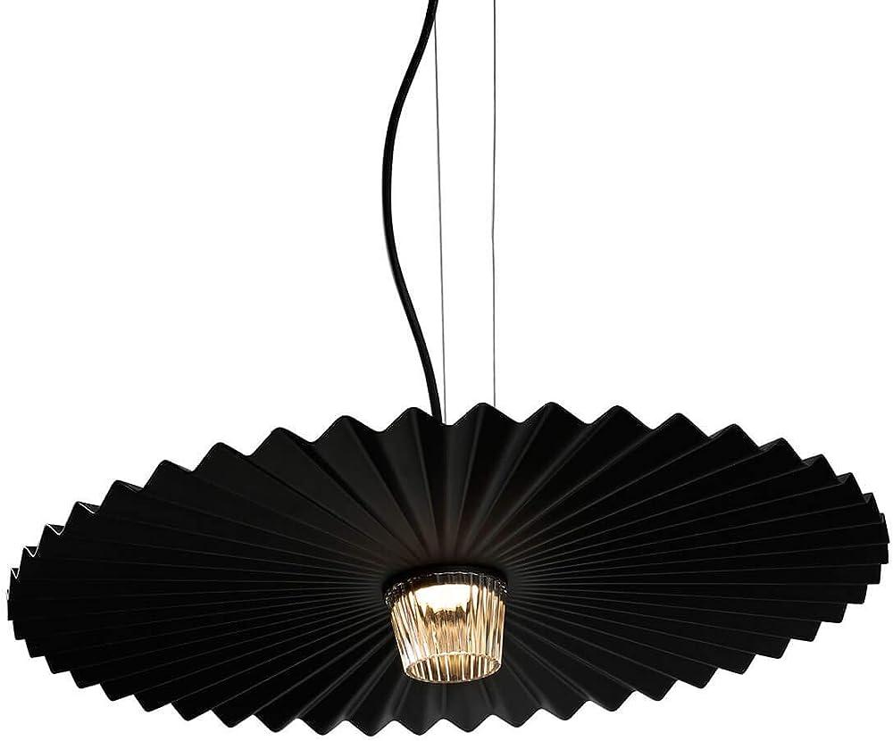Karman gonzaga led, lampada a sospensione dimmerabile Ø59 cm, nero opaco SE185BCEXT