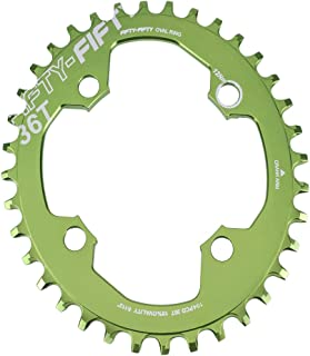 narrow wide chainring oval