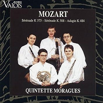 Mozart: Serenades Nos. 11 & 12 & Adagio K. 484 (Arr. for Wind Quintet)