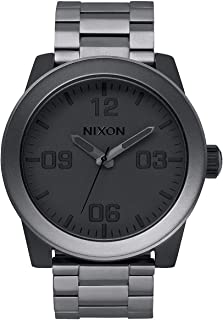 Corporal SS Rugged Men's Watch (48mm. Stainless Steel Band)