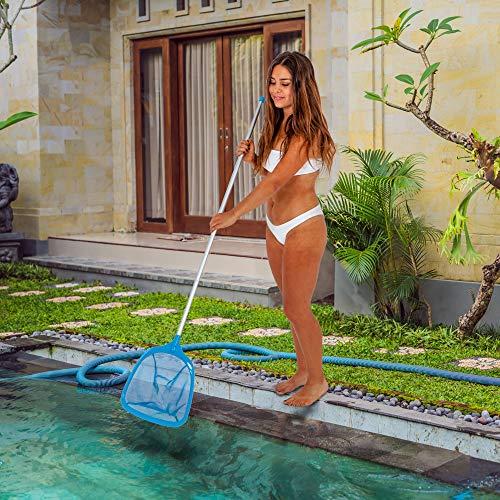 U.S. Pool Supply Professional Swimming Pool Leaf Skimmer Net with 48