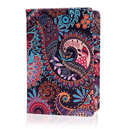 HDE Passport Holder for Women Passport Cover RFID Travel Wallet Case (Paisley)