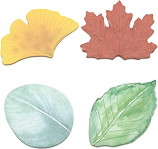 Leaf Sticky Notes Paper Memo Self-Adhesive Notes Self-Adhesive Notepads for Office School Home 4 Shapes by Baryuefull