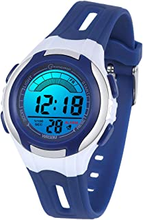 Kids Watches Digital for Girls Boys,7 Colors Led Flashing...