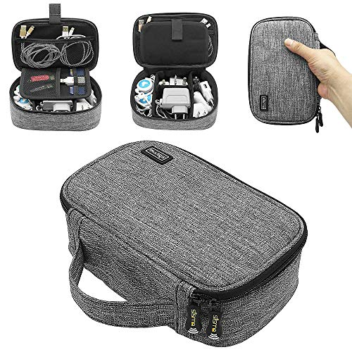 VAESIDA Travel Charging Cord Organizer Case 60W//61W MacBook Charger Case Cover with Cord Winder Protective Case Compatible with Mac Pro Power Adapter