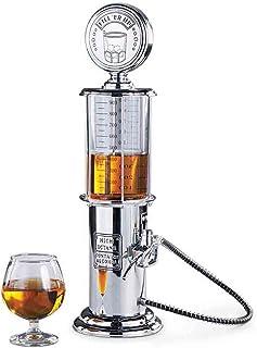 Distributeur de boisson au design chromé Rétro Nostalgie, pompe à pression pour bar, avec tuyau de pompe pour fêtes, distr...