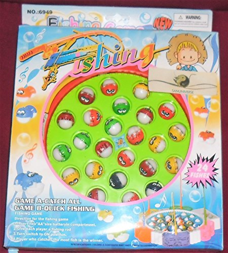 Gioco Pesca da Tavolo Racing Game in Plastica per Bambini Educativo