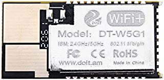 Di For Y التحقيق البرامج الثابتة DT-W5G1 5G WI-FI الوحدة النمطية 2.4G / 5G المزدوج النطاق مع واجهة الهوائي لنقل الصور اللا...