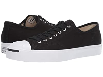 Converse Jack Purcell 1st in Class Ox (Black/White/Black) Classic Shoes