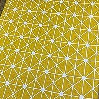 テーブルクロス 新しいコットンやリネンラウンドテーブルクロス耐油ロマンチックなフラワープリントテーブルクロス屋外マットデコレーションテーブルカバーmanteles (Color : B, Specification : 65CM)
