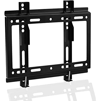 SIENOC Soporte de pared para TV 14-32 pulgadas de pantalla plana(LED LCD 4K 3D), con brazo movil de función giratoria e inclinable Color negro 200*200mm: Amazon.es: Electrónica