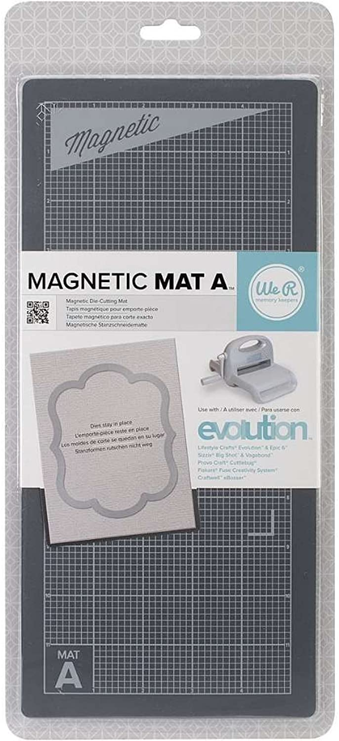 We R Memory Keepers Magnetic Mat for Arts and Crafts, Evolution 1 - 2-Pack B074PGRYQP | Spielen Sie das Beste