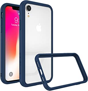 RhinoShield Ultra Protective Bumper Case for [ iPhone XR ] CrashGuard NX, Military Grade Drop Protection for Full Impact, Slim, Scratch Resistant, Royal Blue