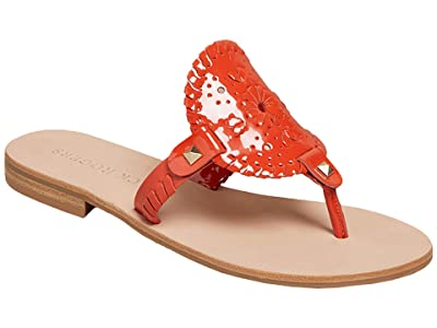 Jack Rogers Georgica Patent Sandal (Chile) Women