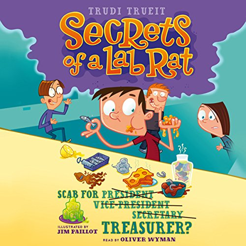 Scab for Treasurer? audiobook cover art