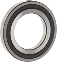 WJB 16002-2RS Deep Groove Ball Bearing, Double Sealed, Metric, 15mm ID, 32mm OD, 8mm Width, 1260lbf Dynamic Load Capacity, 641lbf Static Load Capacity